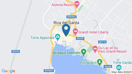 Hotel Giardino Verdi Map