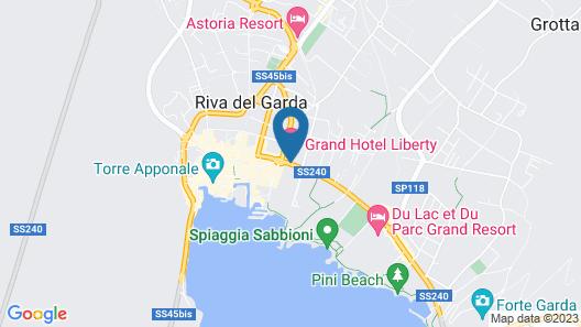 Grand Hotel Liberty Map