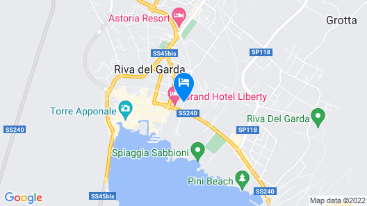 Residence Alle Palme Map