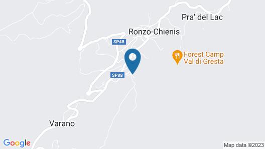 Agritur Piazera Map