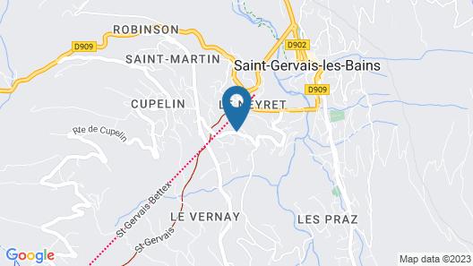 Hôtel Club mmv Le Monte Bianco Map