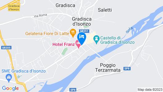 HT Hotel Trieste Map