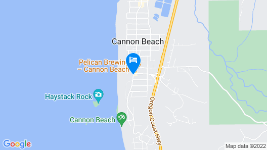Hallmark Resort - Cannon Beach Map