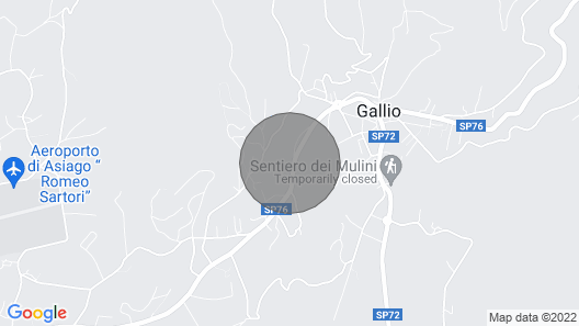 Residence Tre Masi Asiago plateau Map