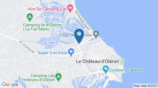 Résidence Odalys Le Village des Amareyeurs Map