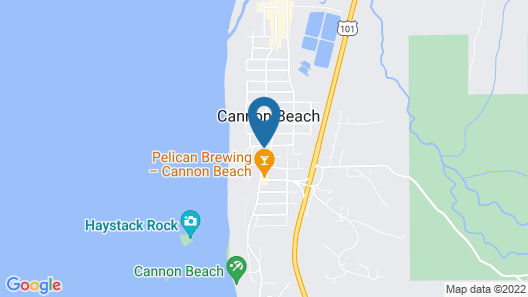 Cannon Beach Hotel Collection Map
