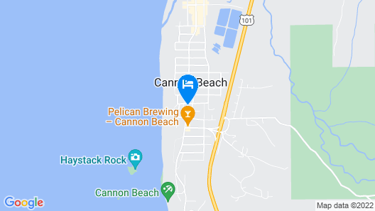Cannon Beach Hotel Map