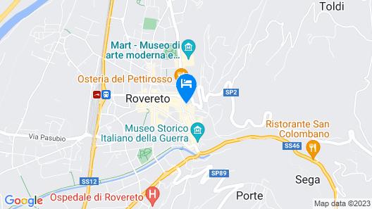 Residence del Messaggero Map