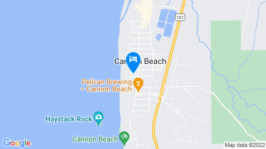 Surfsand Resort Map