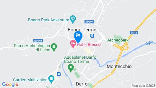 Hotel Brescia Map