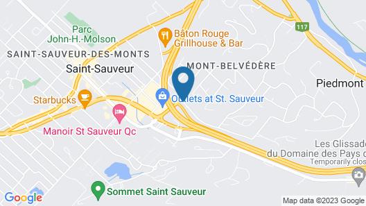 Hôtel St-Sauveur Map