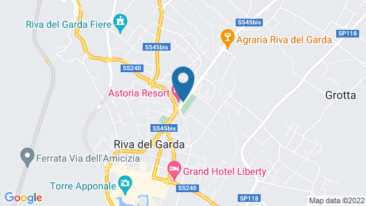 Astoria Resort Map