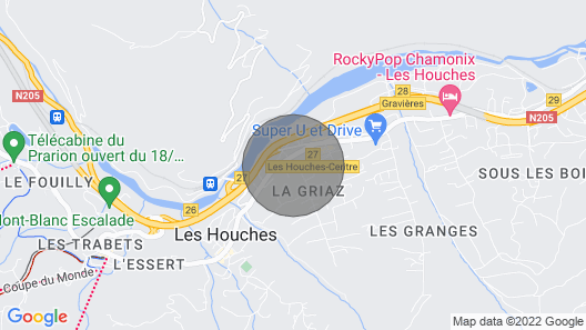 Les Houches, Renovated Typical Farm, Volume, Cleaning included, Concierge Service Map