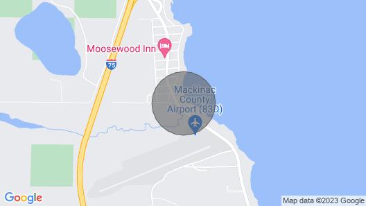 Lovely Lake Huron Studio Cottage W/beach & Kayaks Map