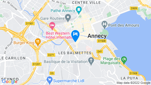 Icône Hôtel Map