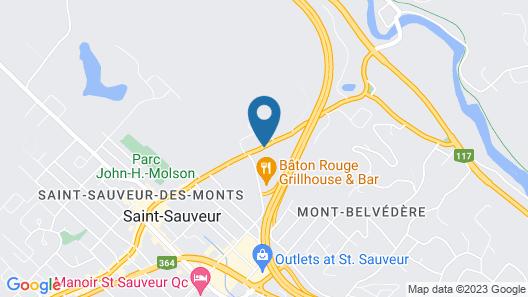 Motel Le JoliBourg Map