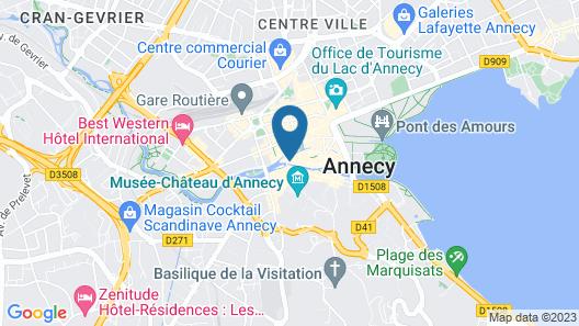 Auberge du Lyonnais Map