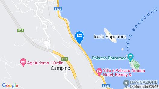 Hotel Romagna Map
