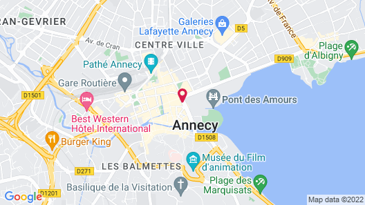 Splendid Hotel Map