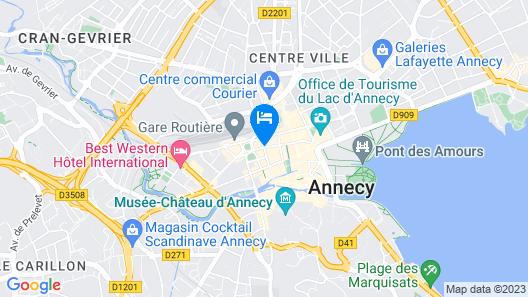 Campanile Annecy Centre - Gare Map