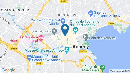 Mercure Annecy Centre Map
