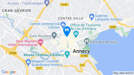 Hotel du Nord Map