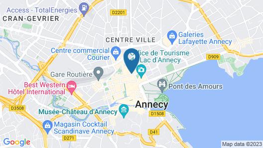Hotel Le Pré Carré Map