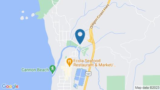 Ecola Creek Lodge Map