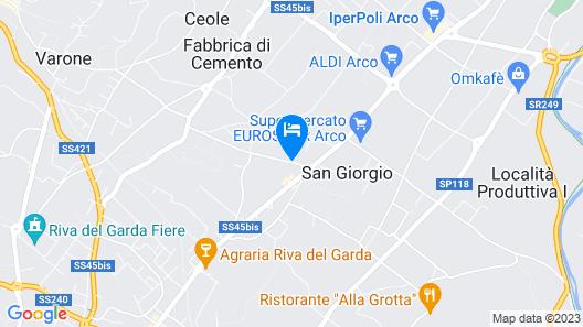 Hotel Campagnola Map