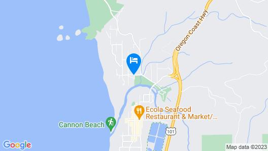 Inn at Haystack Rock Map