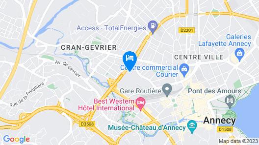 Les Z'hirondelles Map