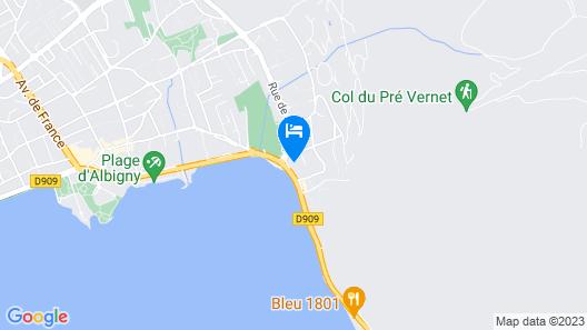Le Bel Abri Map