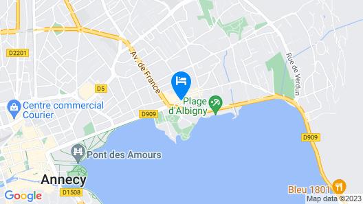 Hôtel Catalpa Map