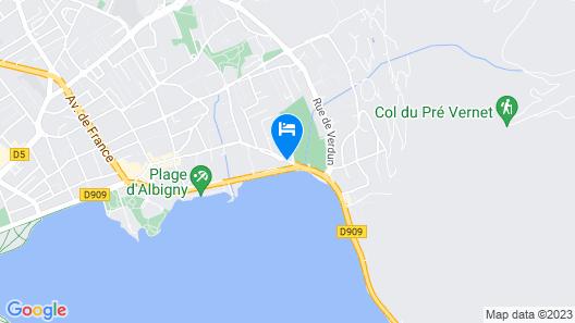 ANCOR HOTEL Map