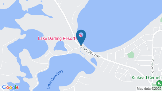 Lake Darling Resort Map