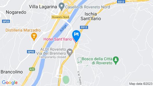 Hotel Sant Ilario Map