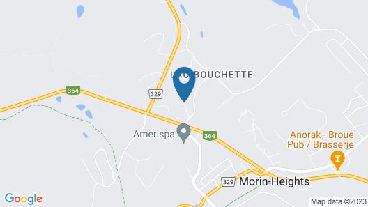 Auberge Le Clos-Joli Map