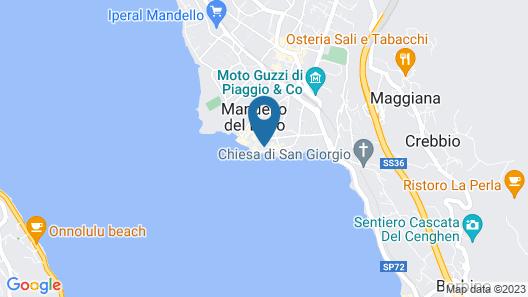 Riva Azzurra Apartment Map