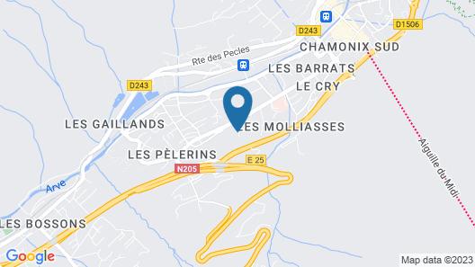 Chamonix Lodge Map