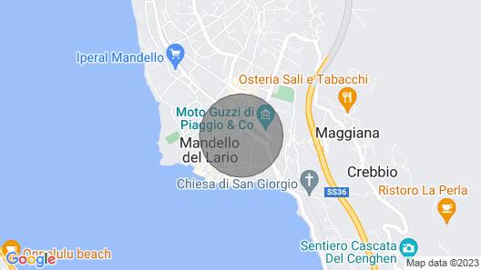 Villa Guzzi Mandello Map