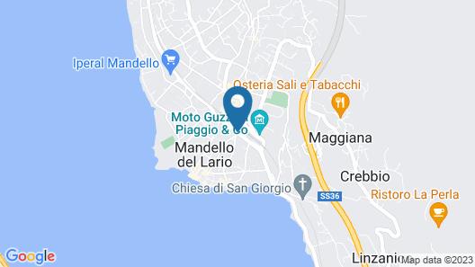 Albergo Grigna Map