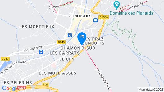 Héliopic Hôtel & Spa Map