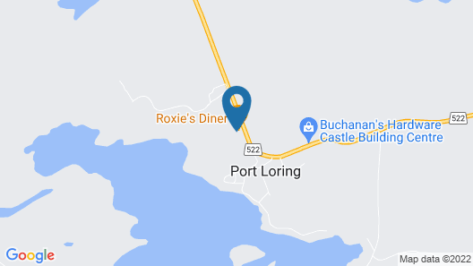 Port Loring Northland Motel Map