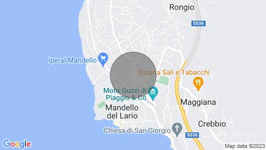 Casa Anna - Mandello del Lario Map