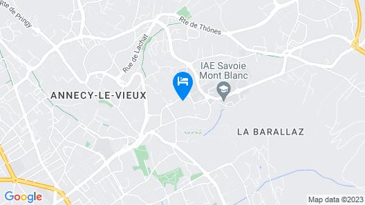 Centre Jean XXIII Map