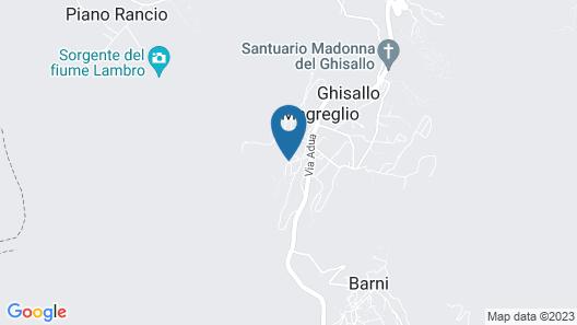 Bed&Bike Ghisallo Map
