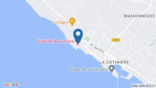 Ile de Lumiere Map