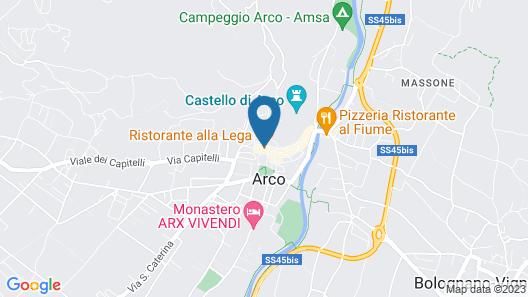 Casa alla Lega Map