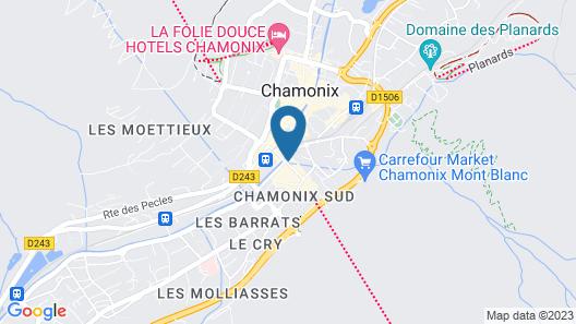 Hôtel Le Morgane Map