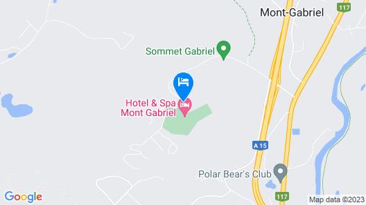 Hotel Mont-Gabriel Map